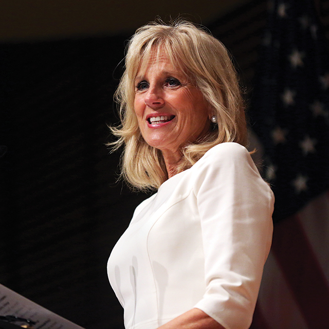 Jill Biden speaks at CCRC's 20th anniversary event
