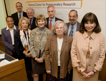 Partners and Supporters Gather at Teachers College to Launch the National Center for Postsecondary Research