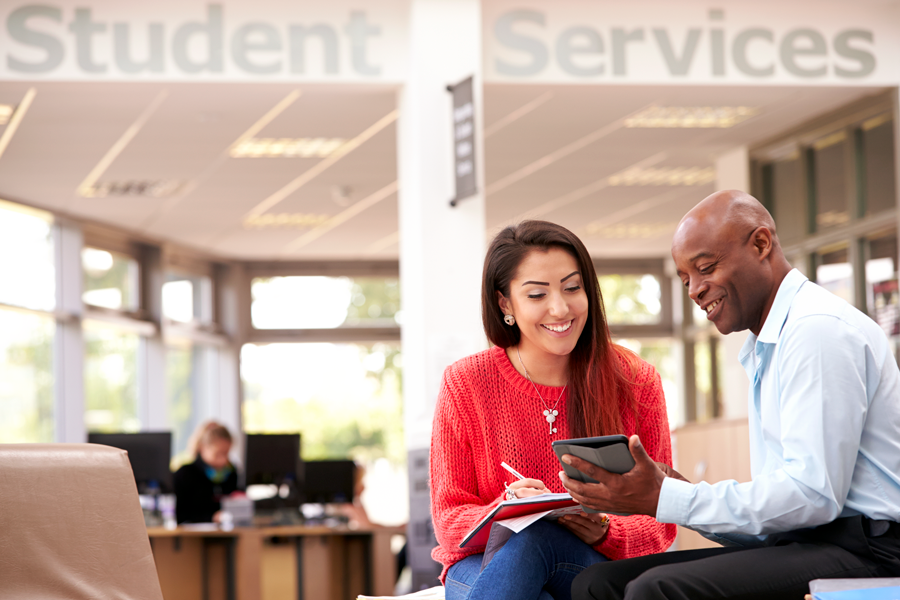 student services financial aid supports