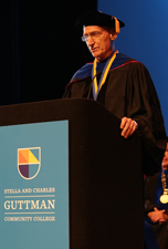 Thomas Bailey Awarded President's Medal by Guttman Community College