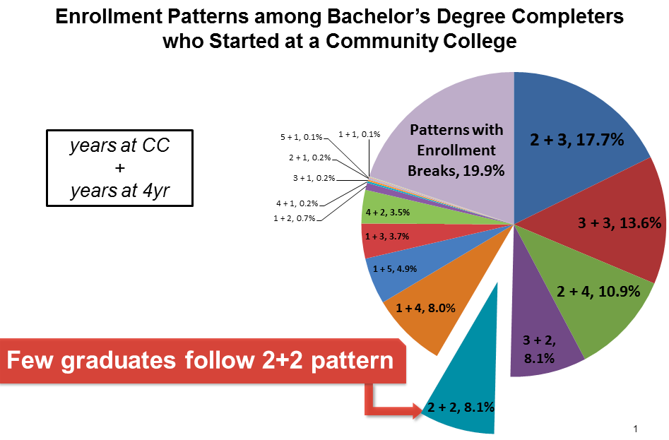 Visualizing the Many Routes Community College Students Take to Complete a Bachelor's Degree
