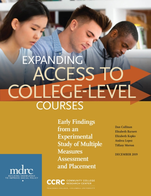 Expanding Access to College-Level Courses