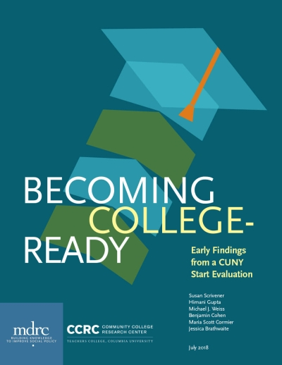 Becoming College-Ready: Early Findings From a CUNY Start Evaluation