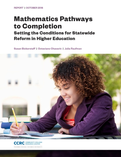 Mathematics Pathways to Completion: Setting the Conditions for Statewide Reform in Higher Education